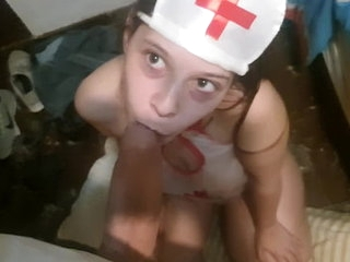 Blowjob 18 Years Sexy Nurse >7 min