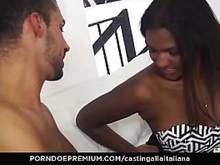 AMATEUR EURO - Indian Babe Tries Threesome For The First Time